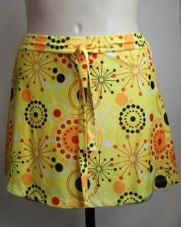 Swimwear skirt in Yellow