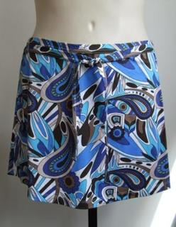 Swimwear skirt in Blue