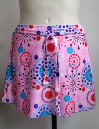 Swimwear skirt in Pink