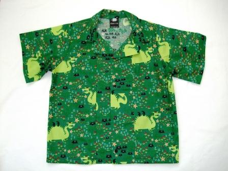 Boys shirt - green dragons size 18m - 2years