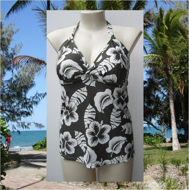 Sonsie Naturals range Tankini in Taupe