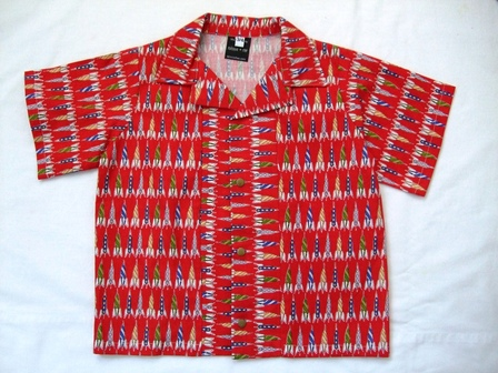 Boys shirt - red rockets size 3-4 years