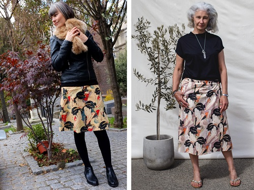 cotton wrap skirts